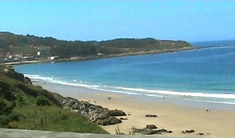 A typical beach in Galician