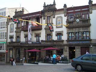 Famous building in Betanzos