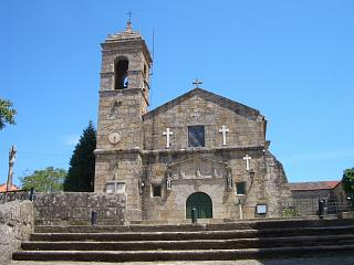 A church in Cambados