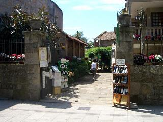 A wine outlet in Cambados