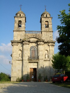 A church in Caldelas