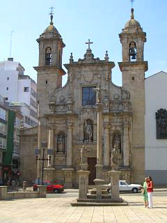 The church, Iglesia de San Jorge