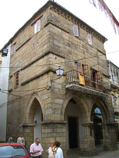 Arch Bishops house in Noia Galicia