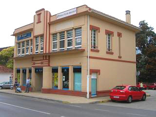 The old art deco dance hall in Noia