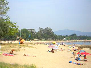 One of Boiro's large beaches