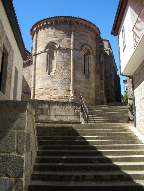 Ribadavia turret church