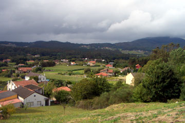 Scenery around the town