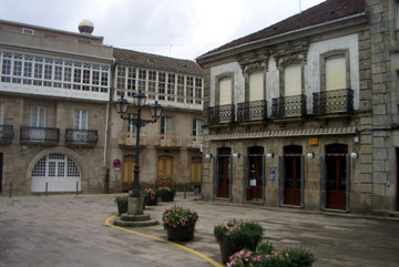 Plaza in Cuntis