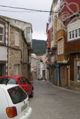 Finisterre's old town
