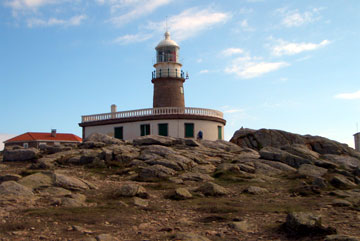 A view of the lighthouse