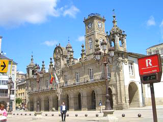 Lugo town hall building
