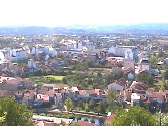View from San Vicente monastery of Monforte de Lemos