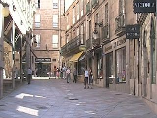 Attractive street in Ourense