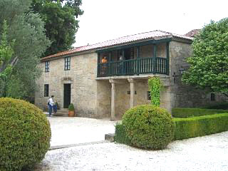 The house of Rosalia de Castro