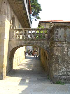 Archway in the old town