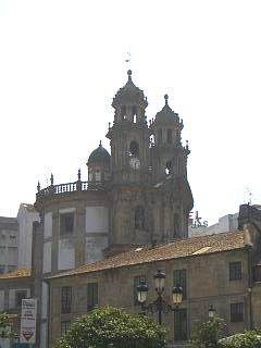 Church of the pilgrim, Pontevedra