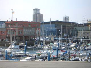 Part of the marina