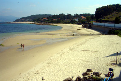 The main beach at Porto do Son