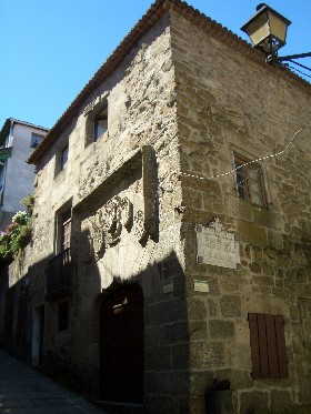 This building was involved in the Spanish inquisition in Ribadavia