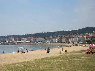 Ribeira's main beach adjacent to the town