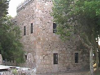 The main building of Santa Cruz castle