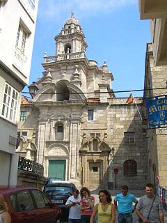 The church of San Domingo