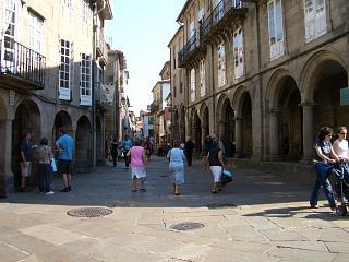 A street in Santiago de Compostela