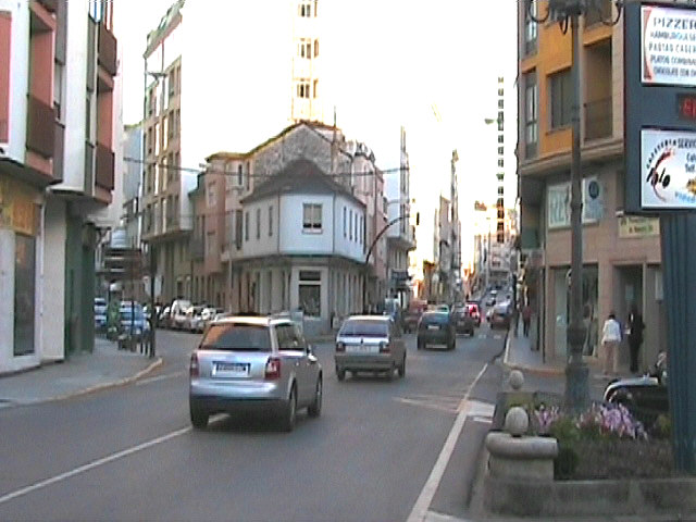 just a street in Sarria